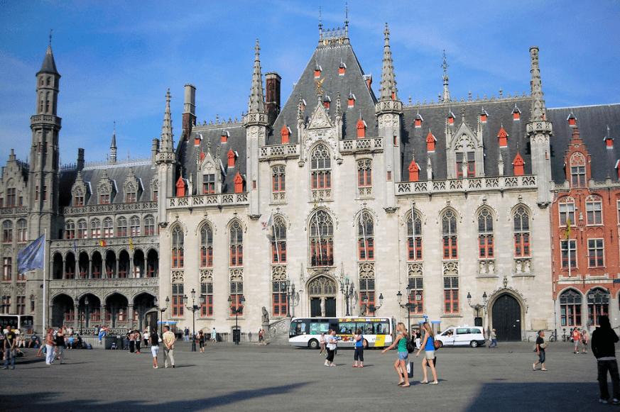 bruges_belgium_market_square