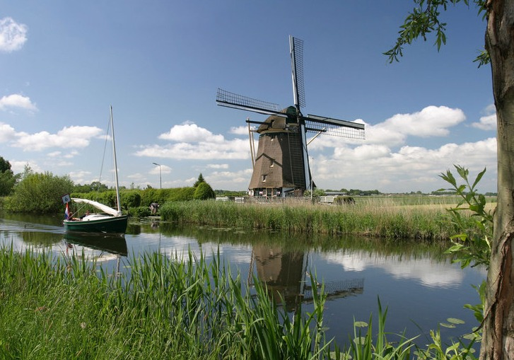 private boat tour windmills