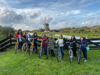 Amsterdam Windmill Bike Tour